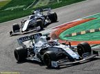 Джордж Расселл и Николас Латифи за рулём Williams FW43