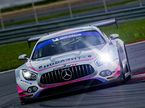 Mercedes AMG GT3 команды Capital Racing Team на трассе Moscow Raceway
