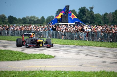 Себастьен Буэми на фестивале Red Bull Race Day